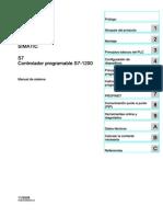 Manual de Sistema SIMATIC S7-1200 Ed.2009-11
