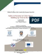 Cyber Draft Agenda