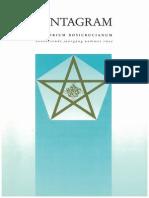 Rozenkruisers Geschiedenis Pentagram Tijdschrift 1995 Nummer 2