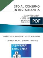 Impuesto Al Consumo en Restaurantes