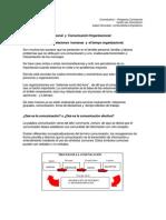 La Comunicación Interpersonal-Organizacional (PDF)