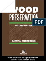 Wood Preservation Second Edition Barry a Richardson
