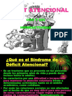 El Síndrome de Déficit Atencional