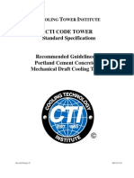 CTI - Recommended Guidelines for Portland Cement Concrete for Mechanical Draft Cooling Towers