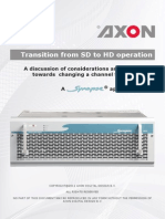 AN2011-05 Transition From SD to HD Operation