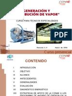 3 Conae Generacion y Distribucion Del Vapor