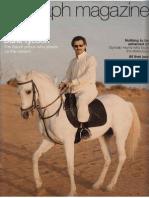 Telegraph Magazine - Deals in the Desert