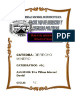 Monografia Contaminacion Minera en Huancavelica