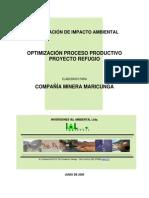 351 DIA Optimizacion Proceso Productivo Refugio