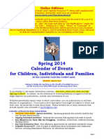 Calendar of Events - May 25, 2014