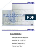 Bombas Helicoidales Sumergibles e Inmersibles