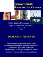 Aula Desenvolvimento Neuropsicomotor da Criança LAPEC