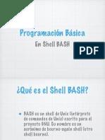 Programación Básica en Shell BASH