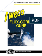 64 9826 Tweco Fluxcore Gun