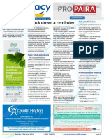 Pharmacy Daily for Tue 27 May 2014 - Crack down a reminder, Pharmacy minimum hours, MA ceo to leave, Sustainable spend? and much more