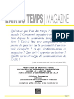 Air Du Temps Magazine