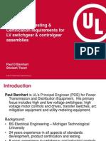 IEC 61439Design Type Testing Certification Requirements ForLV Switchgear Controlgear Assemblies