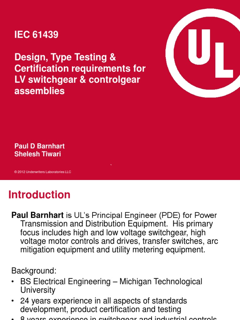 Iec 61439design type testing certification requirements forlv iec 61439design type testing certification requirements forlv switchgear controlgear assemblies verification and validation international 1betcityfo Image collections