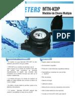 Medidor de Chorro Multiple Plastico -2012
