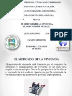 El Mercado de La Vivienda. El Mercado Del Trabajo