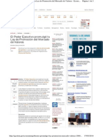 Gestion.pe Economia Gobierno Promulgo Ley Promocion Merc