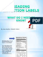 ansello nutrition label presentation english