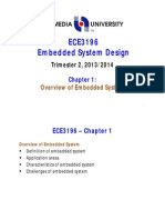 ECE3196_Chapter1 , embeded systems
