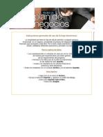 Modelo Plan de Negocios
