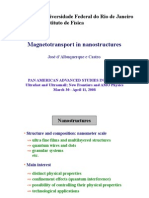 Magnetotransport in nanostructures