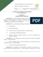 Reglamento de Transito Del Municipio de Los Cabos