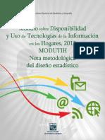 Modutih2013 Nota Metodologica