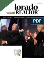 November/December Issue of the Colorado Realtor Magazine