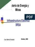 Infraestructura Eléctrica IIRSA