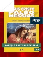 159301665 Colecao Fabulas Biblicas Volume 54 Jesus Cristo Falso Messias