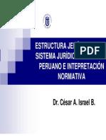 Sistema Juridico e Interpretacion Normativa