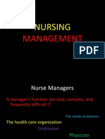 Nurse Manager slide kuliah