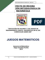 Proyecto Mate SABER SER 2014-2016 Ed c1
