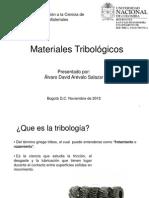 Materiales Tribológicos Corto