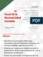 Desenlace Fiscal de La Normatividad Contable[1]