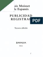 1_pdfsam_publicidad Registral - Luis Moisset de Espanés
