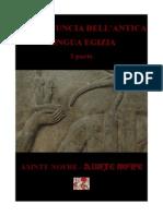 Pronuncia Antica Lingua Egizia-