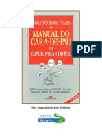 Manual Do Cara de Pau