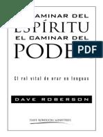 El Caminar Del Espiritu, el rol vital de orar en lenguas