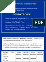 Teórico N° 1_ Principios de Farmacocinetica, Vías de administracion_Farmacocinética parte I