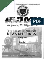 26 May 14-Clippings