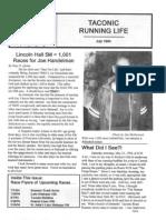 1994-07 Taconic Running Life July 1994