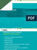 X - Hydraulic Fluids Electronic Handout