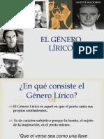 EL GÉNERO LÍRICO.definitivo Pptx