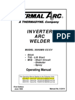 300 GMS Inverter Arc Welder Operators Manual (0-2419)