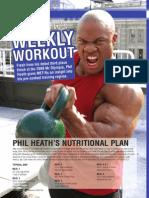 Phil Heath Workout